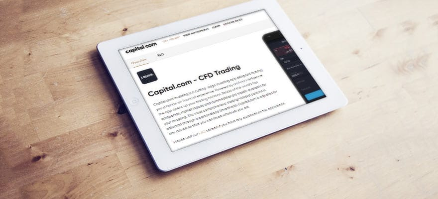 CySEC-Regulated CFD Trading App Capital.com Launches New Website