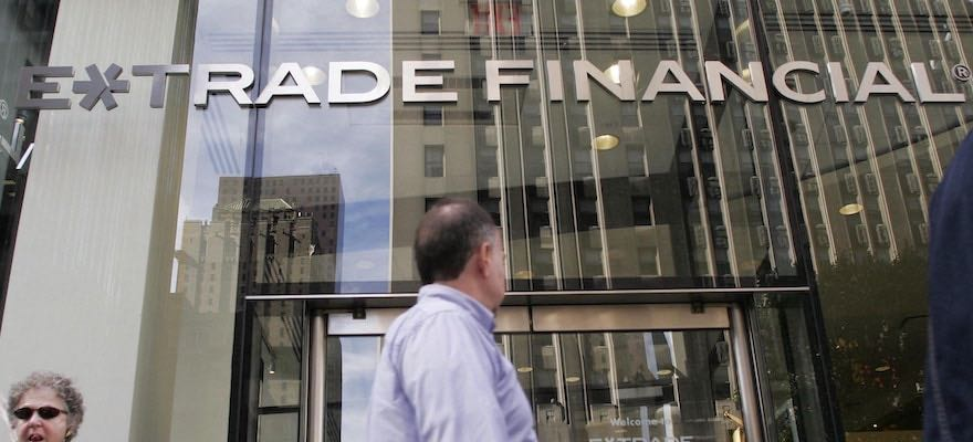 E*TRADE Agrees to Buy 1 Million Brokerage Accounts Of Capital One's ‎Client Base