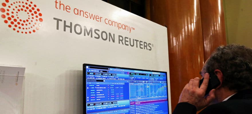 Thomson Reuters Reveals Flat Revenues, EPS Down on Discontinued Operations