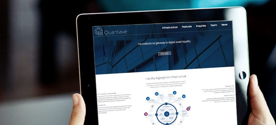 Quantave Wants to be the Institutional Gateway to Cryptocurrency Liquidity