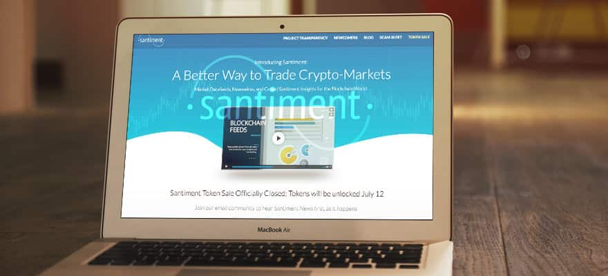 Santiment ICO Hits $10m Target Less Than 45 Seconds into Semi-public Offering