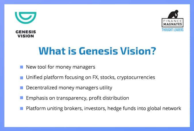 Genesis Vision Aims To Decentralize Money Management With Platform