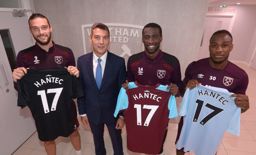 Hantec Markets Signs Three Year Deal with West Ham