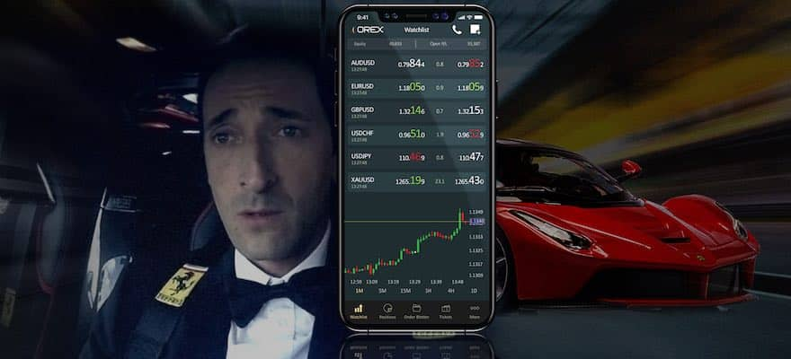 Adrien Brody Promoting ADS Securities' OREX Trading Platform