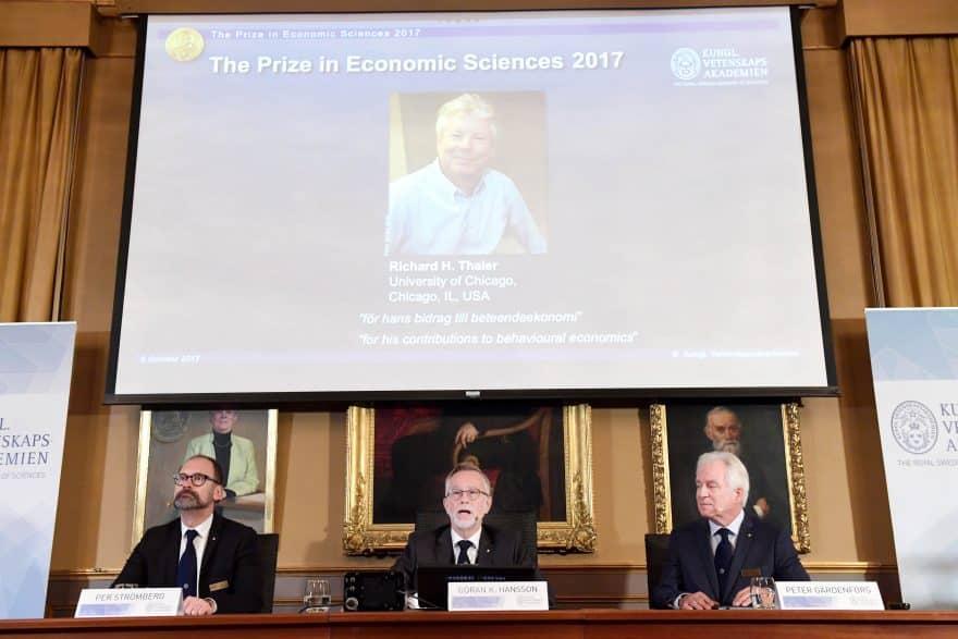 Richard H. Thaler Wins 2017 Nobel Prize for Economics