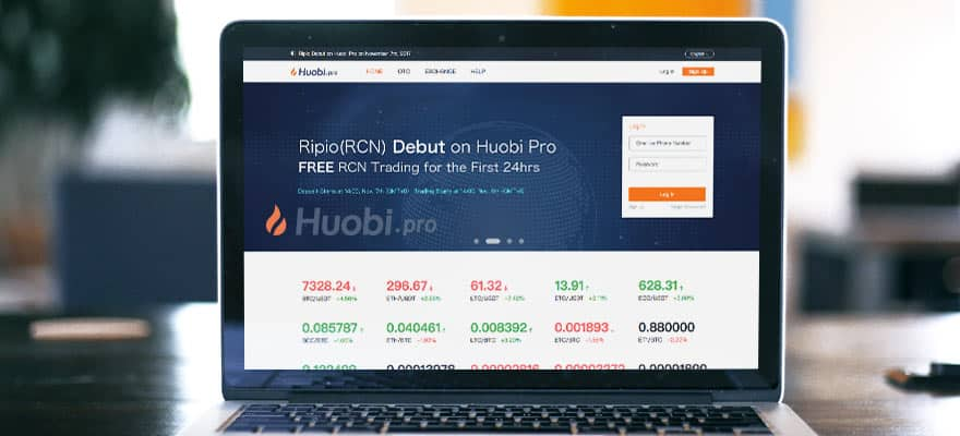 cryptocurrency exchange huobi