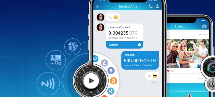 e-Chat takes on App Space with New Multicurrency Cryptowallet