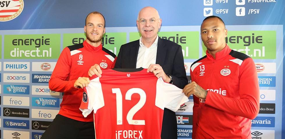 iFOREX Renews Sponsorship Deal with Dutch Football Team, PSV Eindhoven