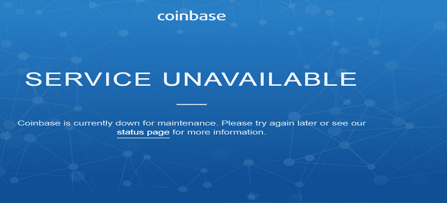 Coinbase and Bitfinex Go Down as Bitcoin Climbs Back to $17,500