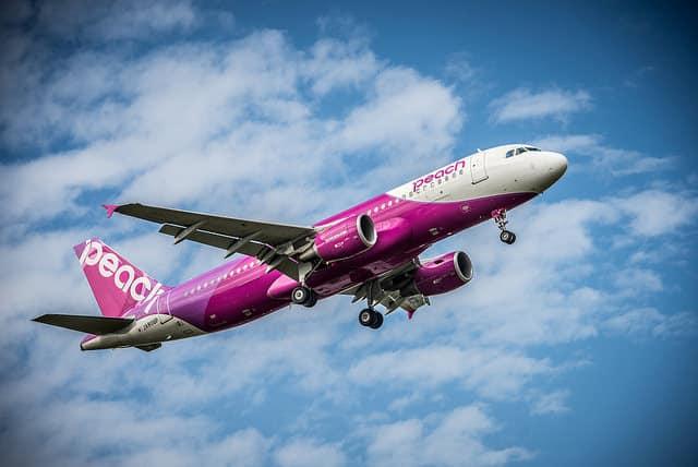 peach aviation, airline, japan