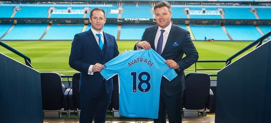 Exclusive: AvaTrade Signs Partnership Agreement with Manchester City