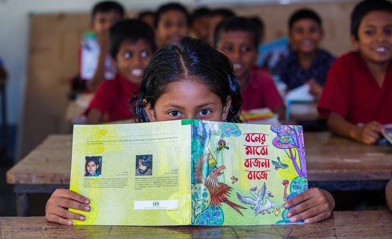 On Women's Day, Contentworks Sponsors Female Literacy Program