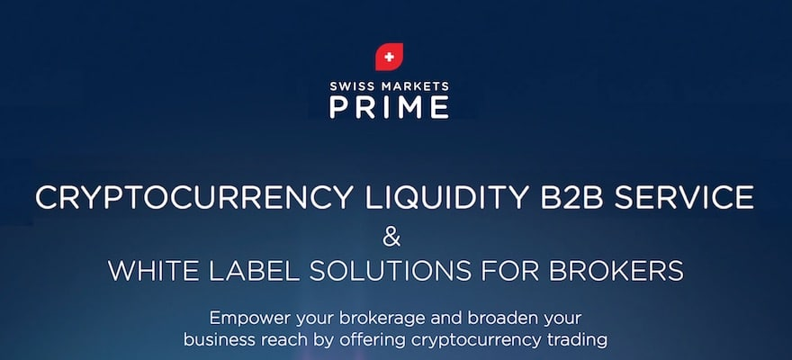 Swiss Markets Prime Launches New Crypto Liquidity Service