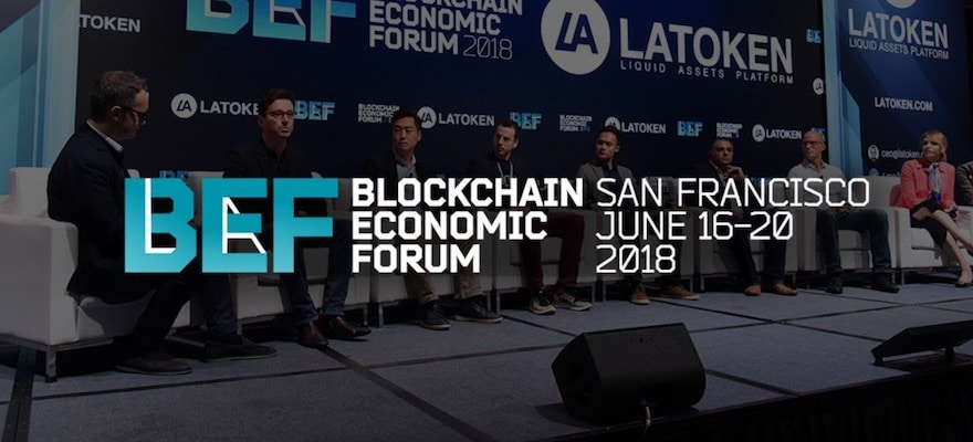 Over 2,000 Converge in San Francisco for the 2018 Blockchain Economic Forum
