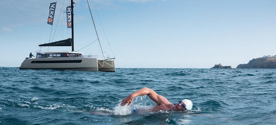 The Long Swim Begins, Led by FXTM Brand Ambassador Lewis Pugh