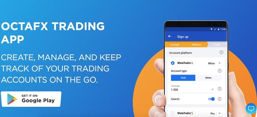 OctaFX, FX, trading app, FX