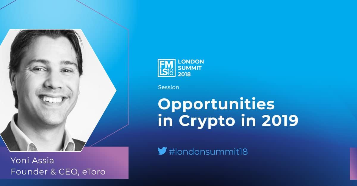 Yoni Assia, cryptocurrencies, eToro