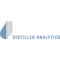 The Distilled analytics logo.