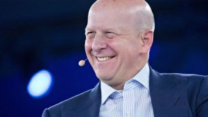 David Solomon, incoming CEO at Goldman Sachs