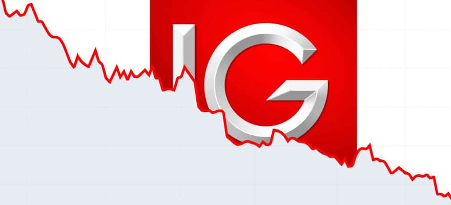 IG Group's Shares Close This Week 10% Lower
