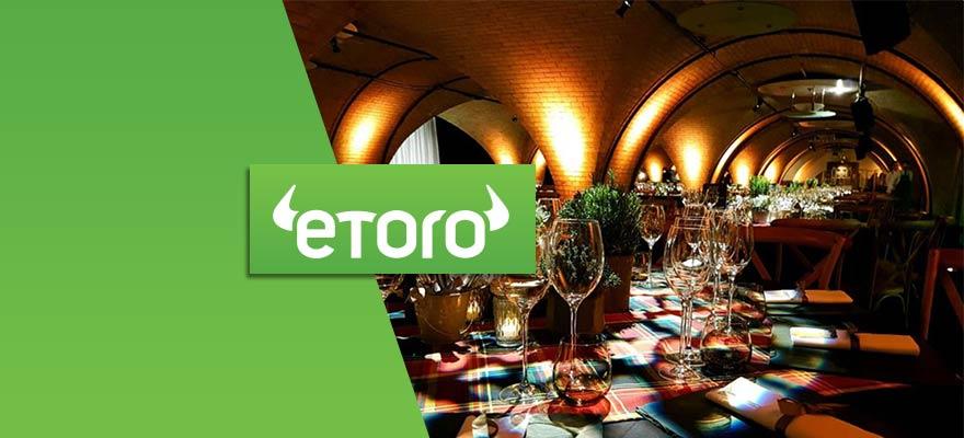 eToro Joins London Summit's Crypto Trading Floor