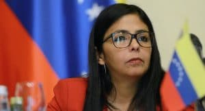 Vice-President of Venezuela, Delcy Rodriguez, Petro