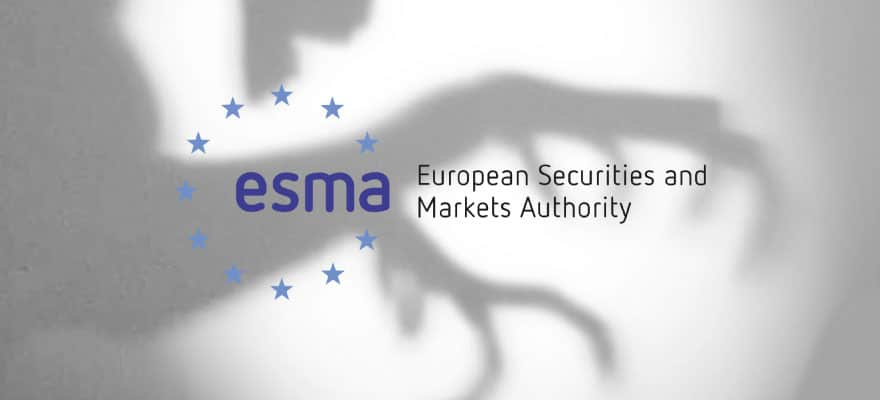 An image of the ESMA's logo on a white background