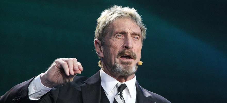 John McAfee Among Defendants Named in Pump and Dump Lawsuit