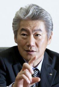 Koji Nagai, CEO of Nomura