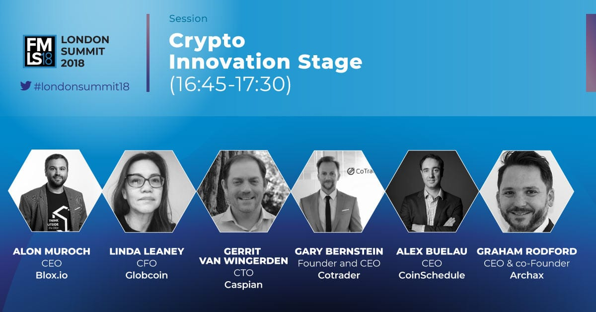 Meet London Summit's Crypto Innovation Stage! | Finance Magnates