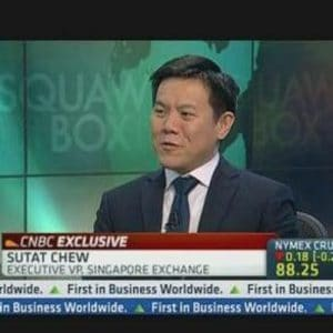 Chew Sutat the Executive Vice President and Head of Equities and Fixed Income at SGX.