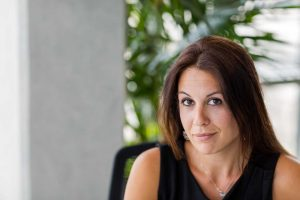 Ioanna Vlassi, an executive director and owner of Unirec, a firm specializing in strategic consulting and executive searching in finance and fintech