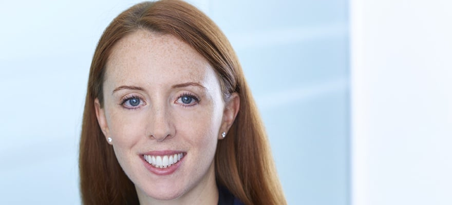 A picture of Kirsty Gillies, Head of eFX Sales at Sucden Financial