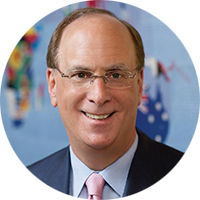 Laurence Fink the CEO and Chairman of BlackRock Inc