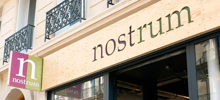 One of the nostrum coffee stores that has just partnered with Cyclebit