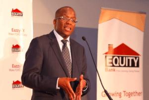 Equity Bank Kenya Managing Director Polycarp Igathe speaking on EazzyFX