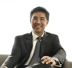 Tengku Dato' Sri Zafrul Aziz, CEO of CIMB Group