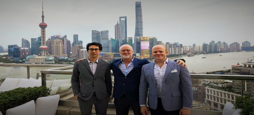 Invast Global Onboards Alex Wang in Shanghai Office
