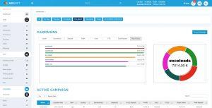 Airsoft 2.0 campaign management statistics