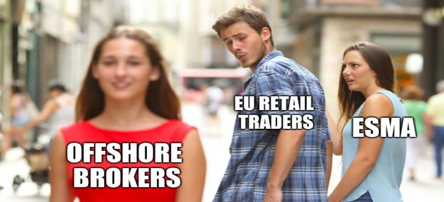 ESMA meme made by Finance Magnates
