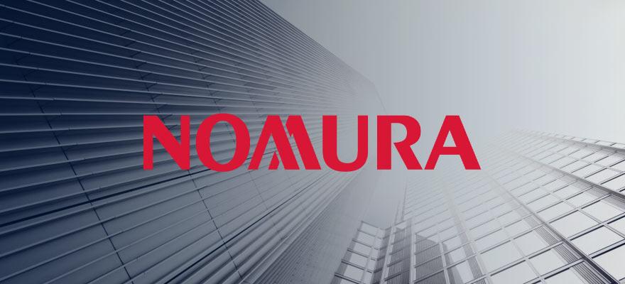 nomura logo on top of headquarters