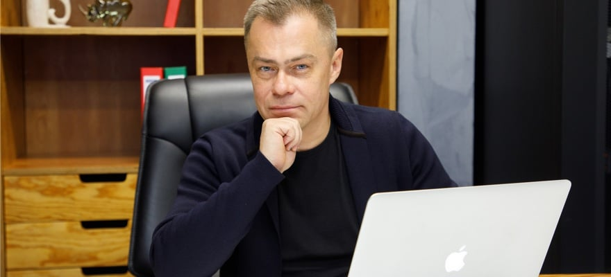 A picture of the CEO of Grand Capital, Stanislav Vaneev