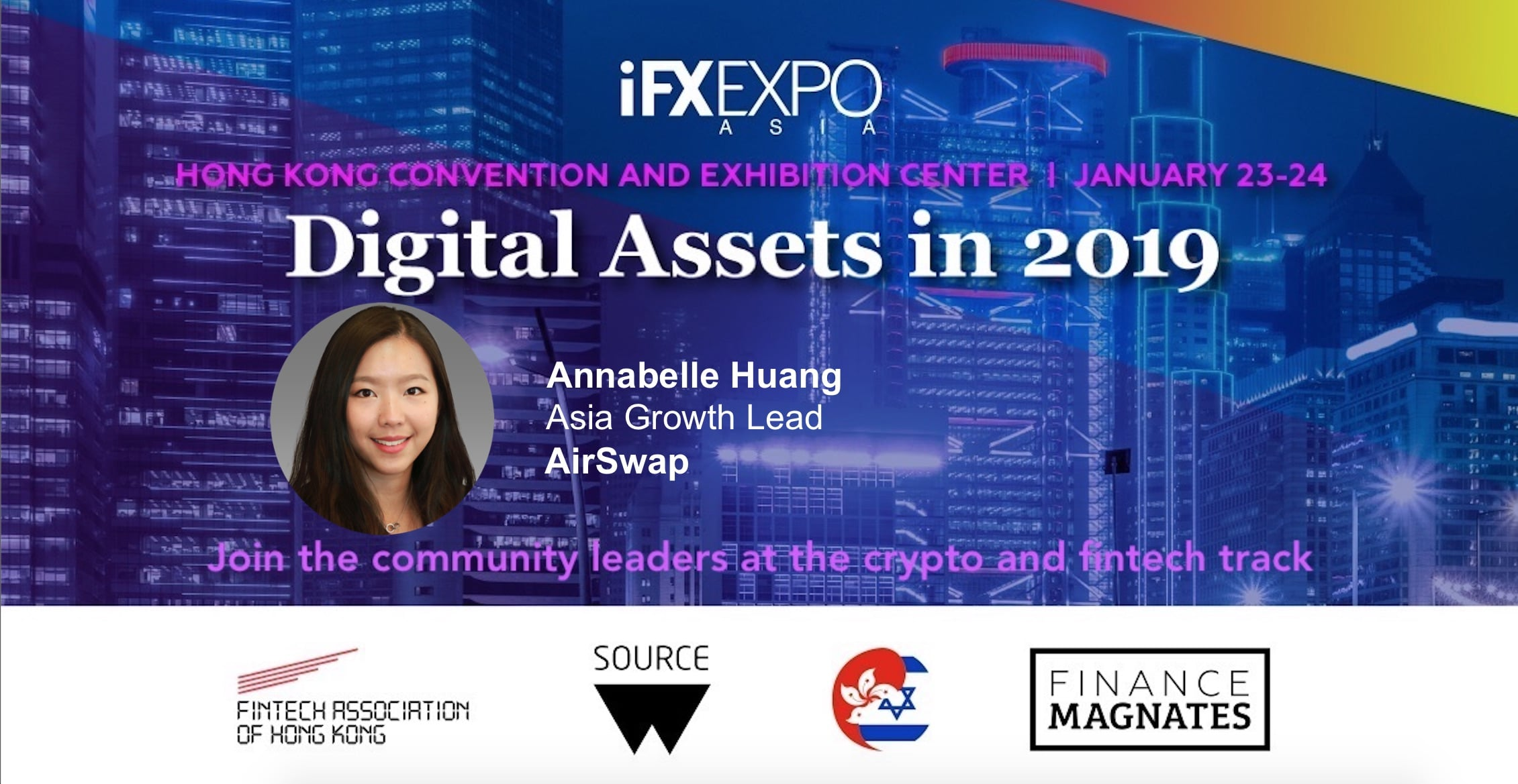 Annabelle Huang, Airswap, IFX EXPO