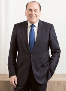 Axel Weber the chairman of UBS