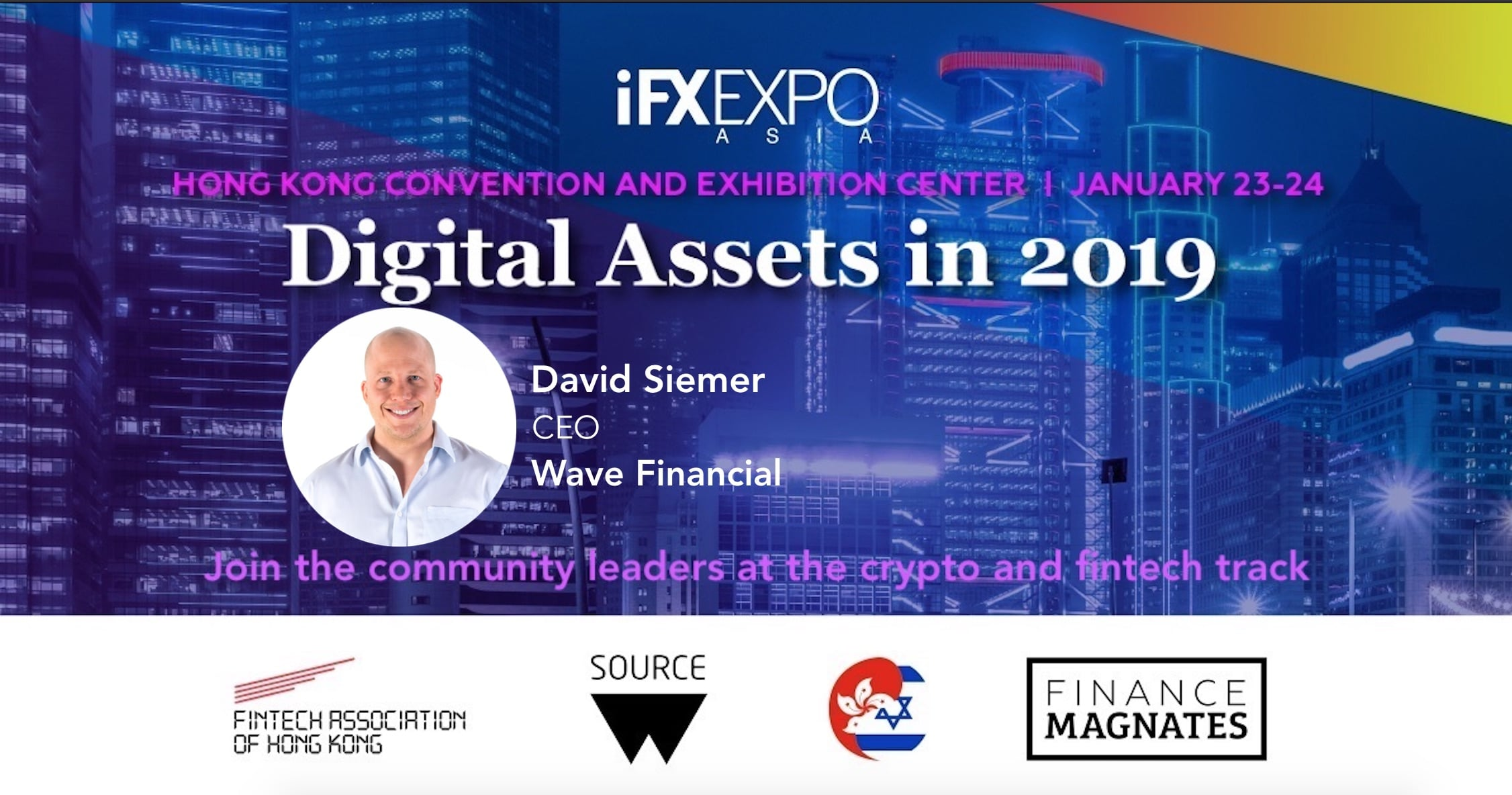 David Siemer, Wave Financial, IFX EXPO