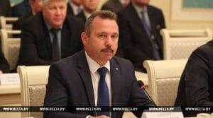 Viktor Ananich the chairman of Belarusbank