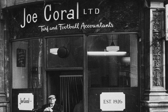 Joe Coral betting shop london