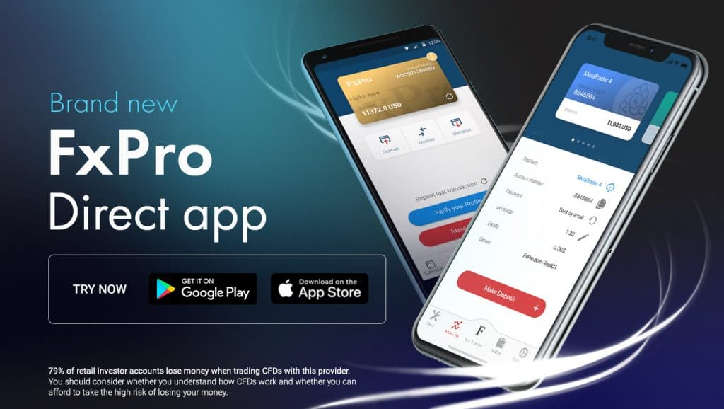 FxPro Introduces the Brand New 'FxPro Direct' App | Finance Magnates