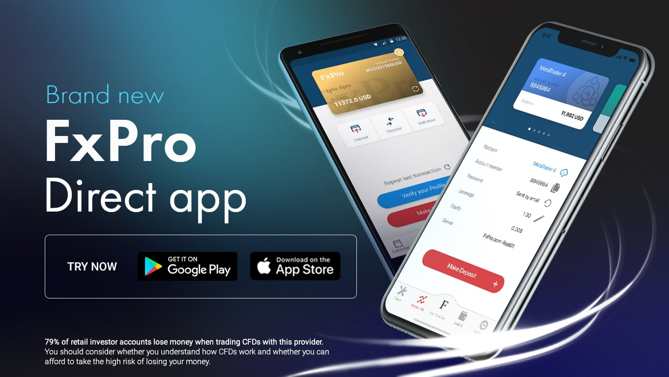 FxPro Introduces the Brand New 'FxPro Direct' App | Finance Magnates