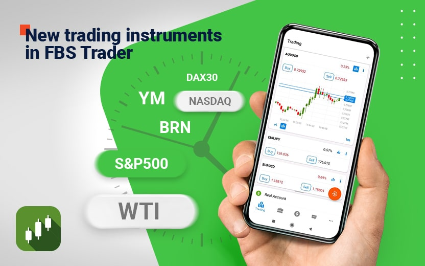 Fbs Announces New Trading Instruments In Fbs Trader App Finance Magnates